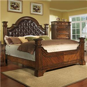 Pinewood International Wellington  Upholstered Queen Size Bed