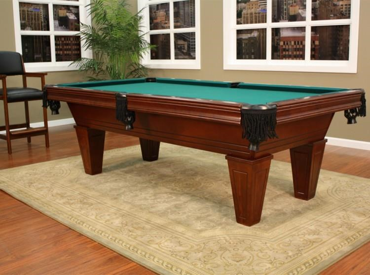 Carson 7' Pool Table by Plank & Hide at Johnny Janosik