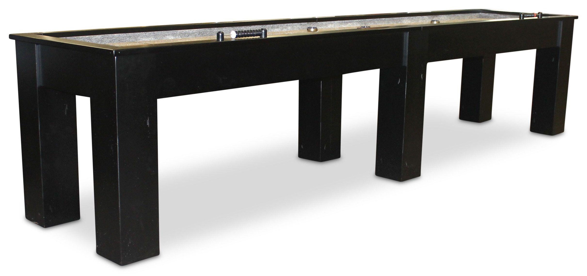Fulton 12' Shuffleboard by Plank & Hide at Johnny Janosik