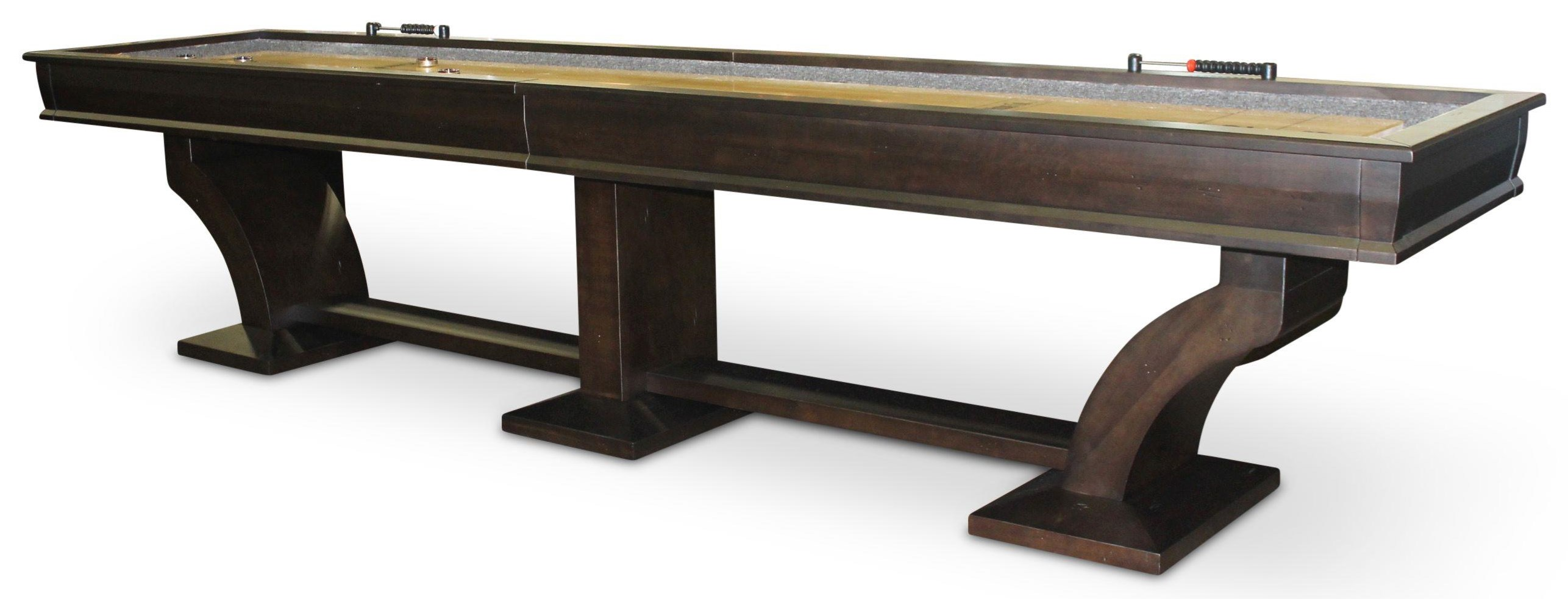Paxton 14' Shuffleboard by Plank & Hide at Johnny Janosik