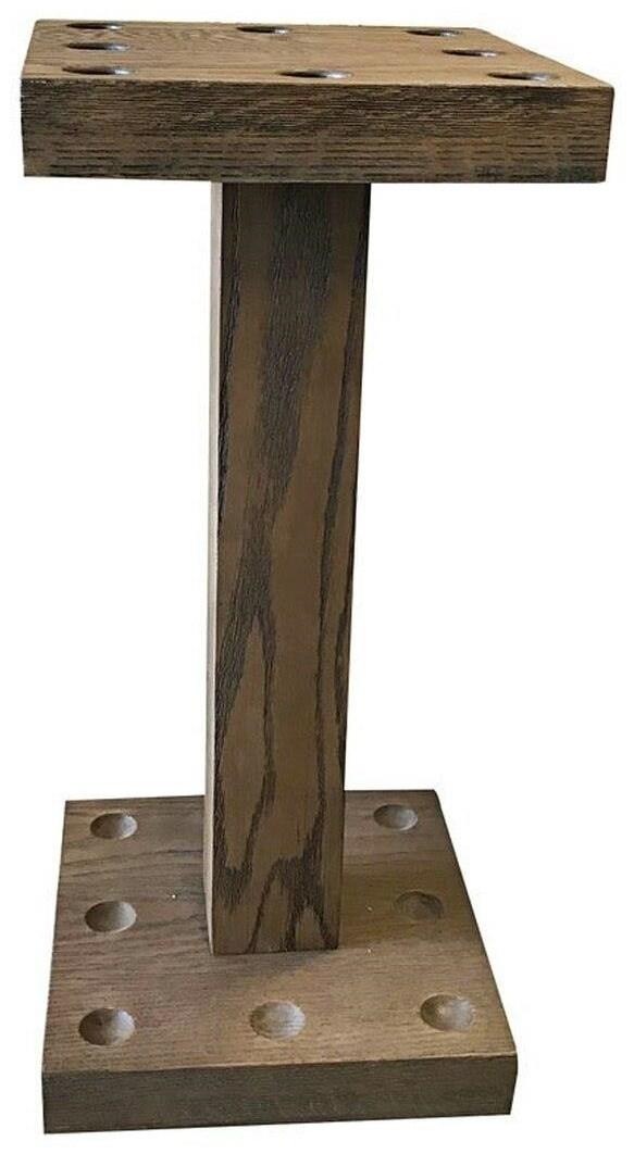 Isaac Oak Floor Rack by Plank & Hide at Johnny Janosik