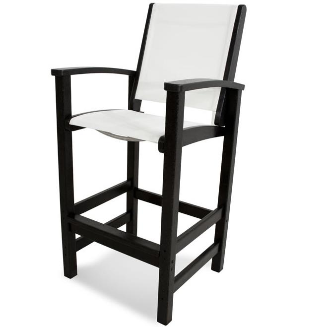 Coastal Collection Bar Chair by Polywood at Rooms and Rest