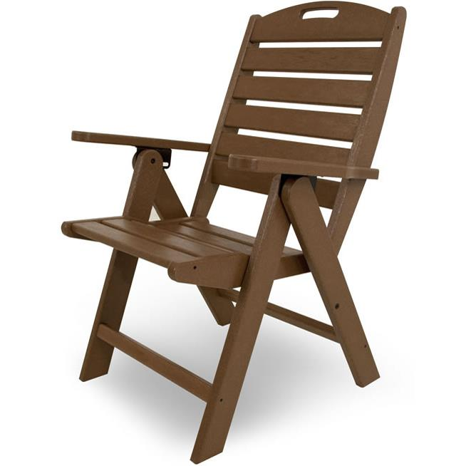 Nautical Outdoor Arm Chair by Polywood at Rooms and Rest