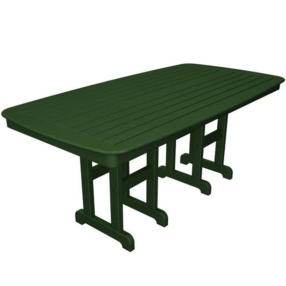 Nautical Outdoor Dining Table by Polywood at Rooms and Rest