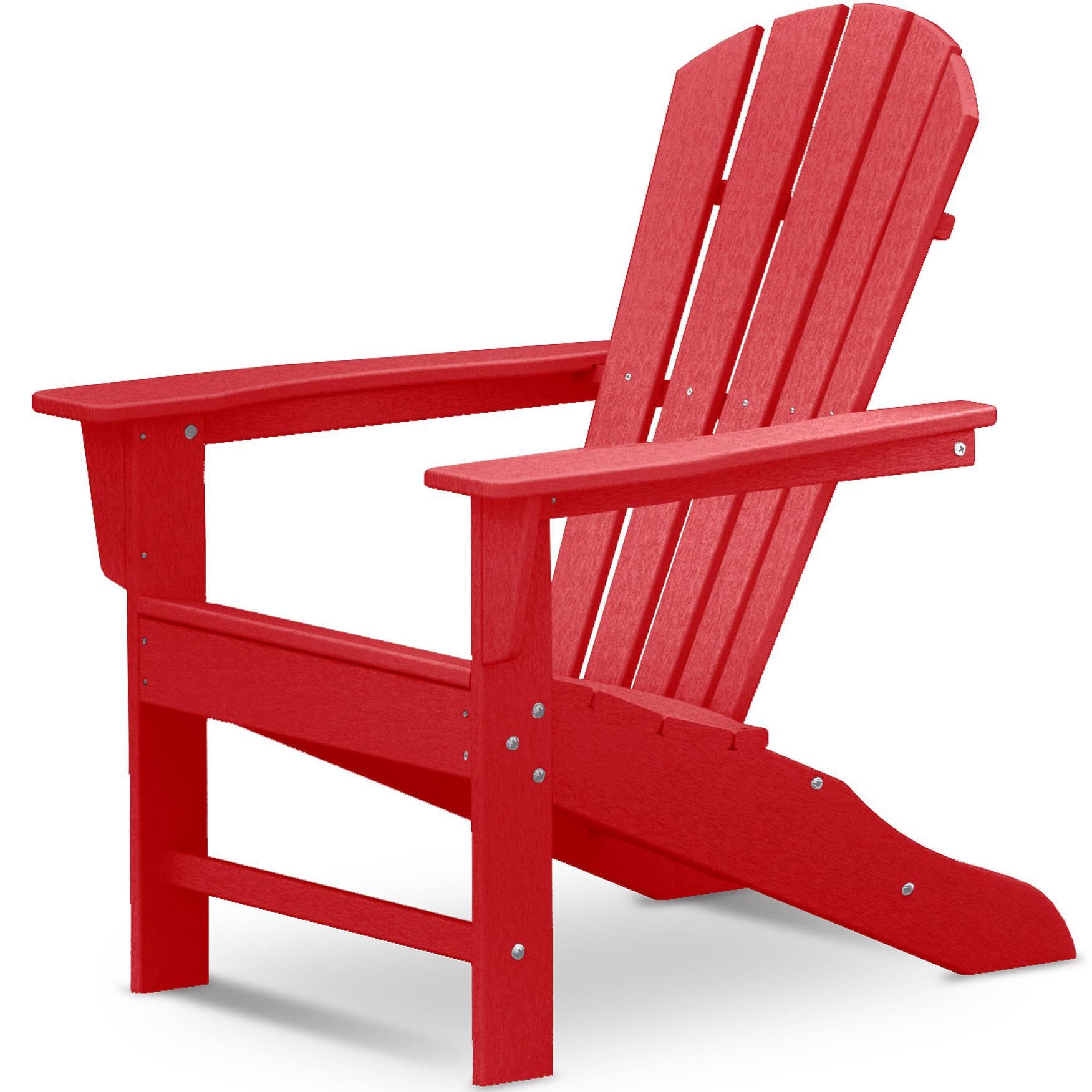 Palm Coast Adirondack Chair by Polywood at Rooms and Rest