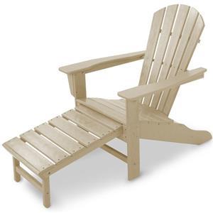 Adirondack Lounge Chair w/ Hideaway Ottoman