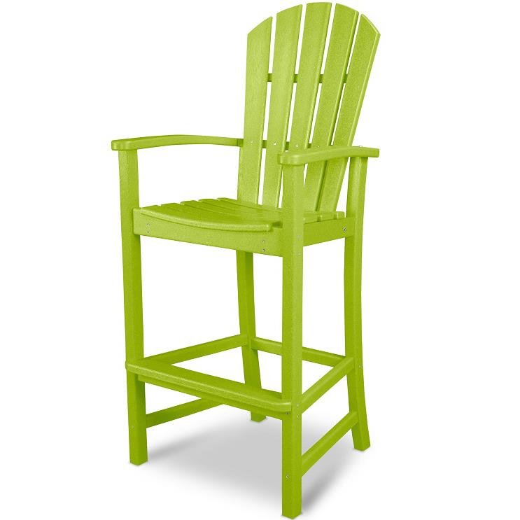 Palm Coast Bar Chair by Polywood at Rooms and Rest