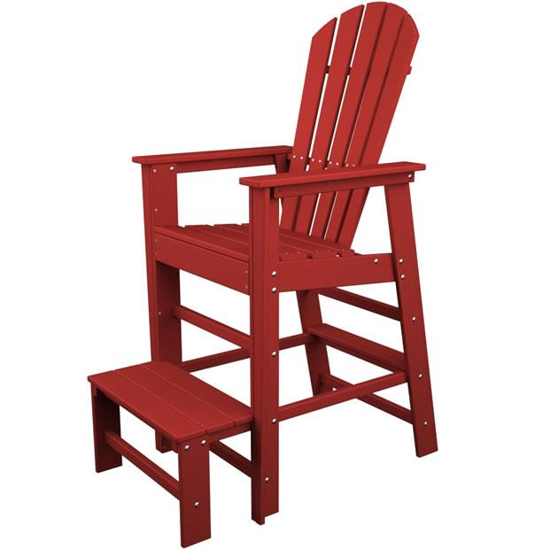 South Beach Lifeguard Chair by Polywood at Rooms and Rest