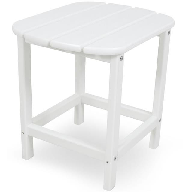 """South Beach 18"""" Side Table by Polywood at Rooms and Rest"""