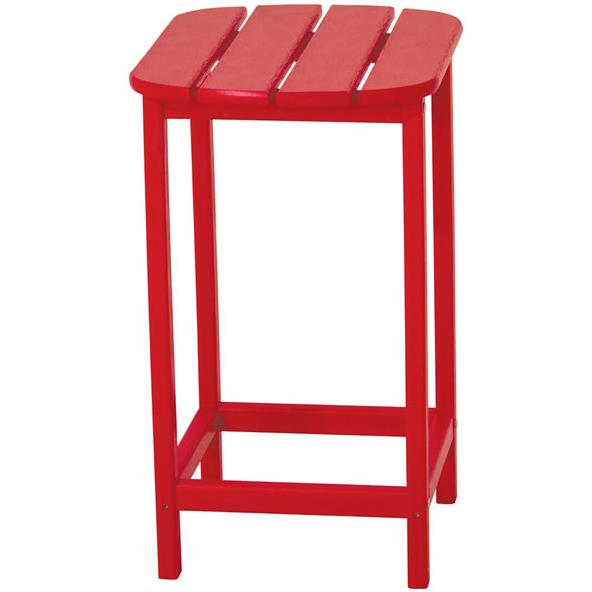 """South Beach 26"""" Counter Height Side Table by Polywood at Rooms and Rest"""