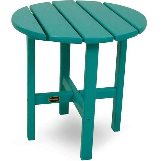 """Table Collection 18"""" Side Table by Polywood at Rooms and Rest"""