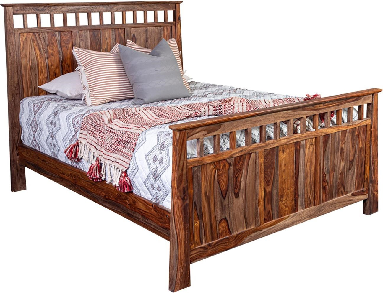 Queen Panel Bed at Sadler's Home Furnishings