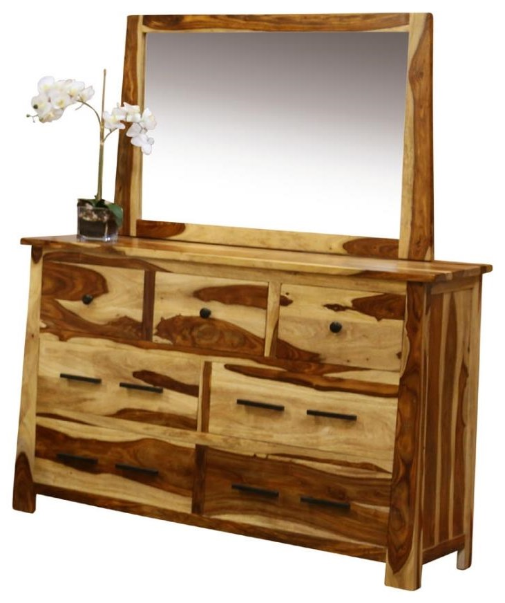 Kalispell Dresser and Mirror by Porter International Designs at Rife's Home Furniture