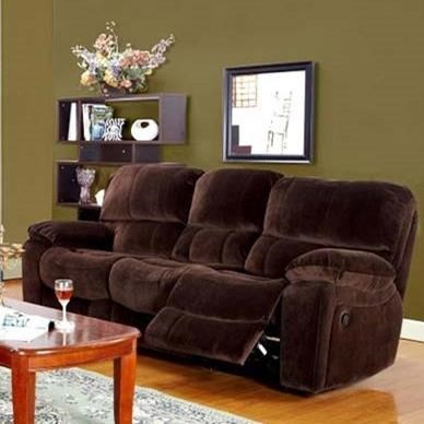 Ramsey Power Dual Reclining Sofa by Porter International Designs at Lynn's Furniture & Mattress