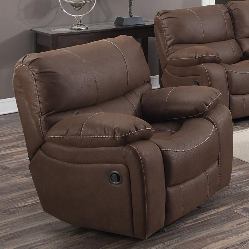 Ramsey Gliding Recliner at Sadler's Home Furnishings