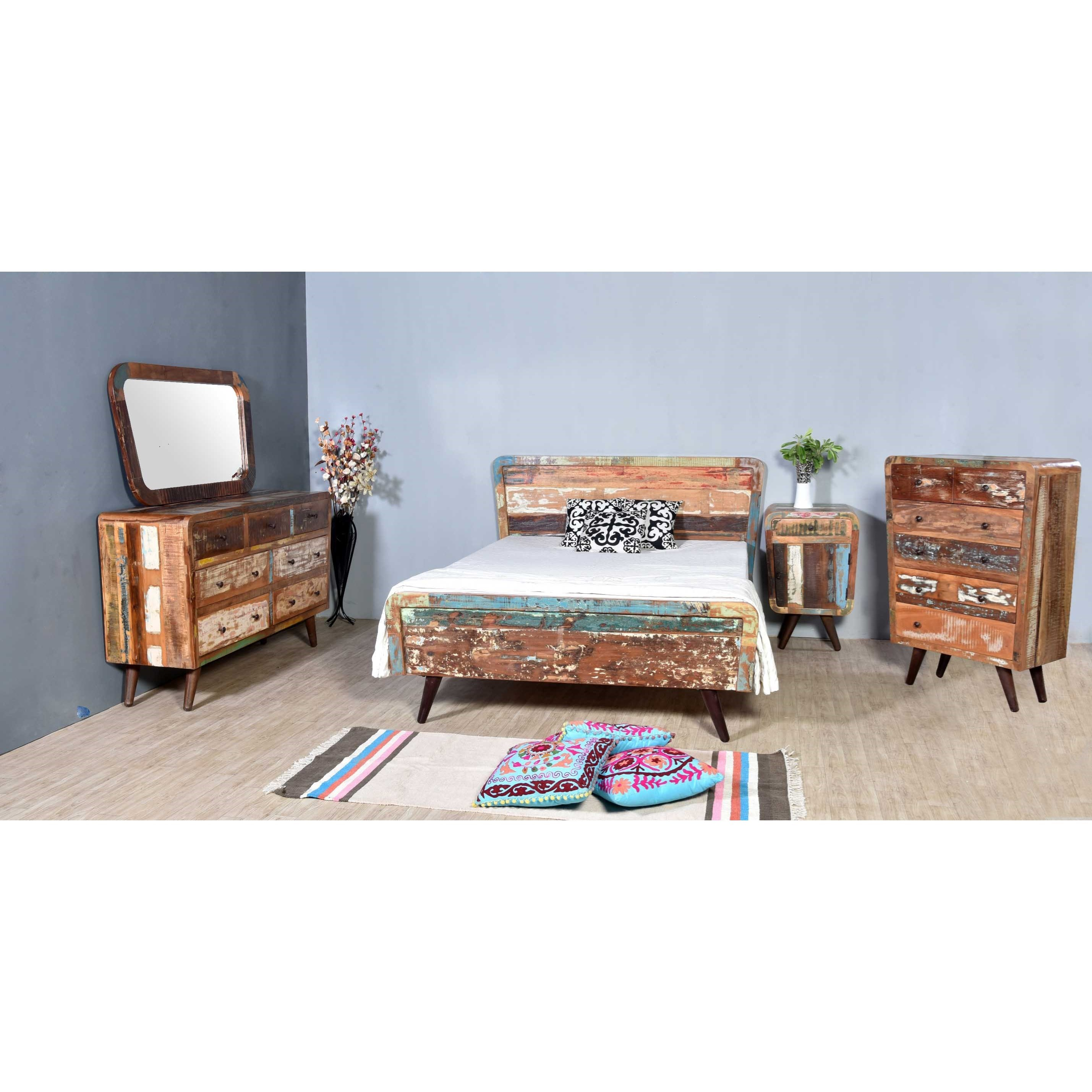 Route 66 Queen Bedroom Group at Williams & Kay