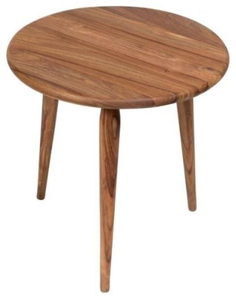 Round End Table at Williams & Kay