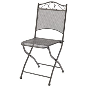 Mesh Metal Folding Chair