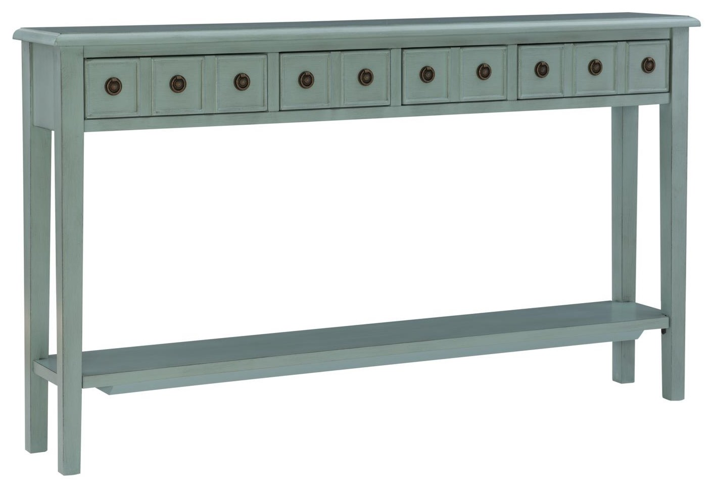 19A8213 TEAL 60INCH TEAL CONSOLE by Powell at Furniture Fair - North Carolina