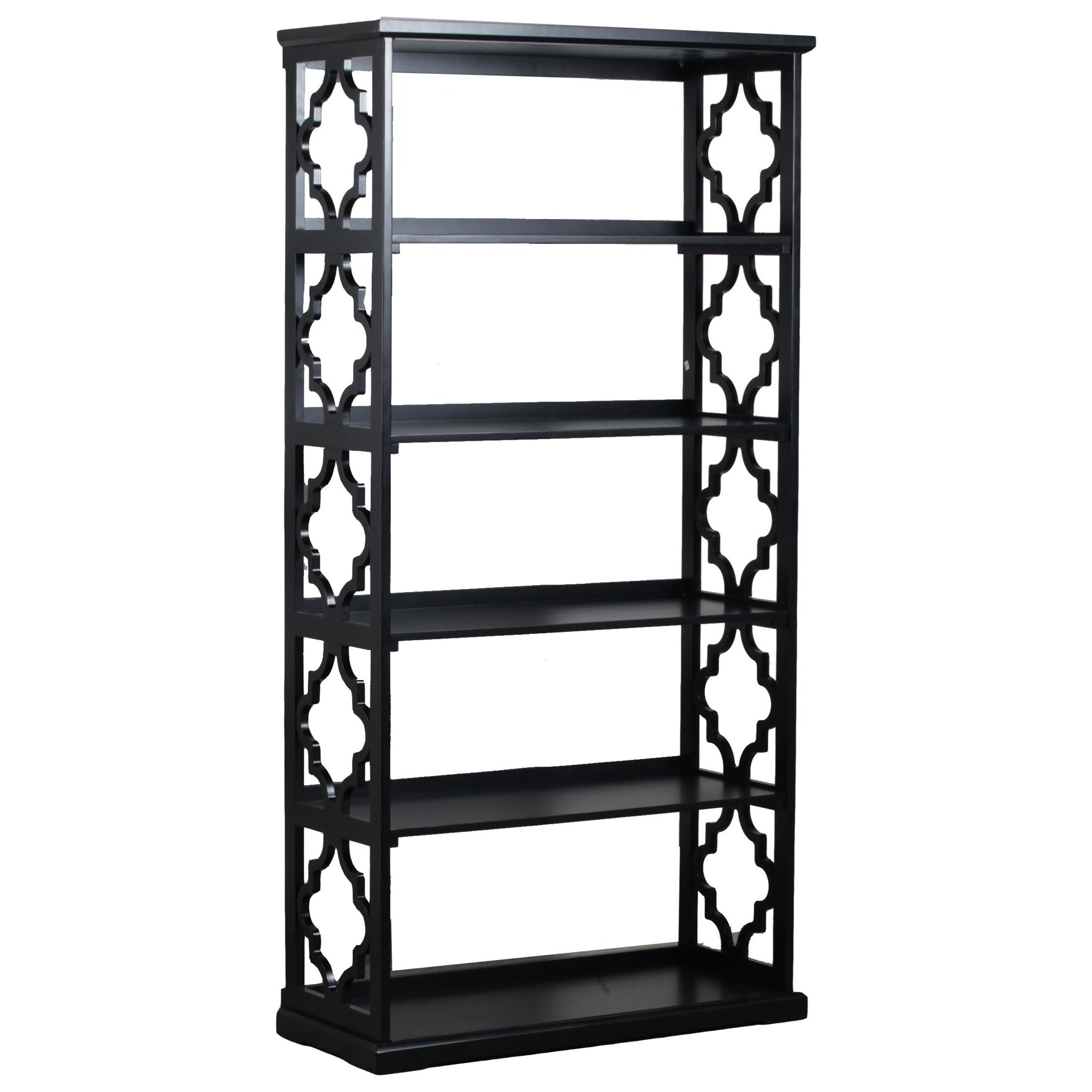 Accent Furniture Turner Bookcase Black  by Powell at A1 Furniture & Mattress