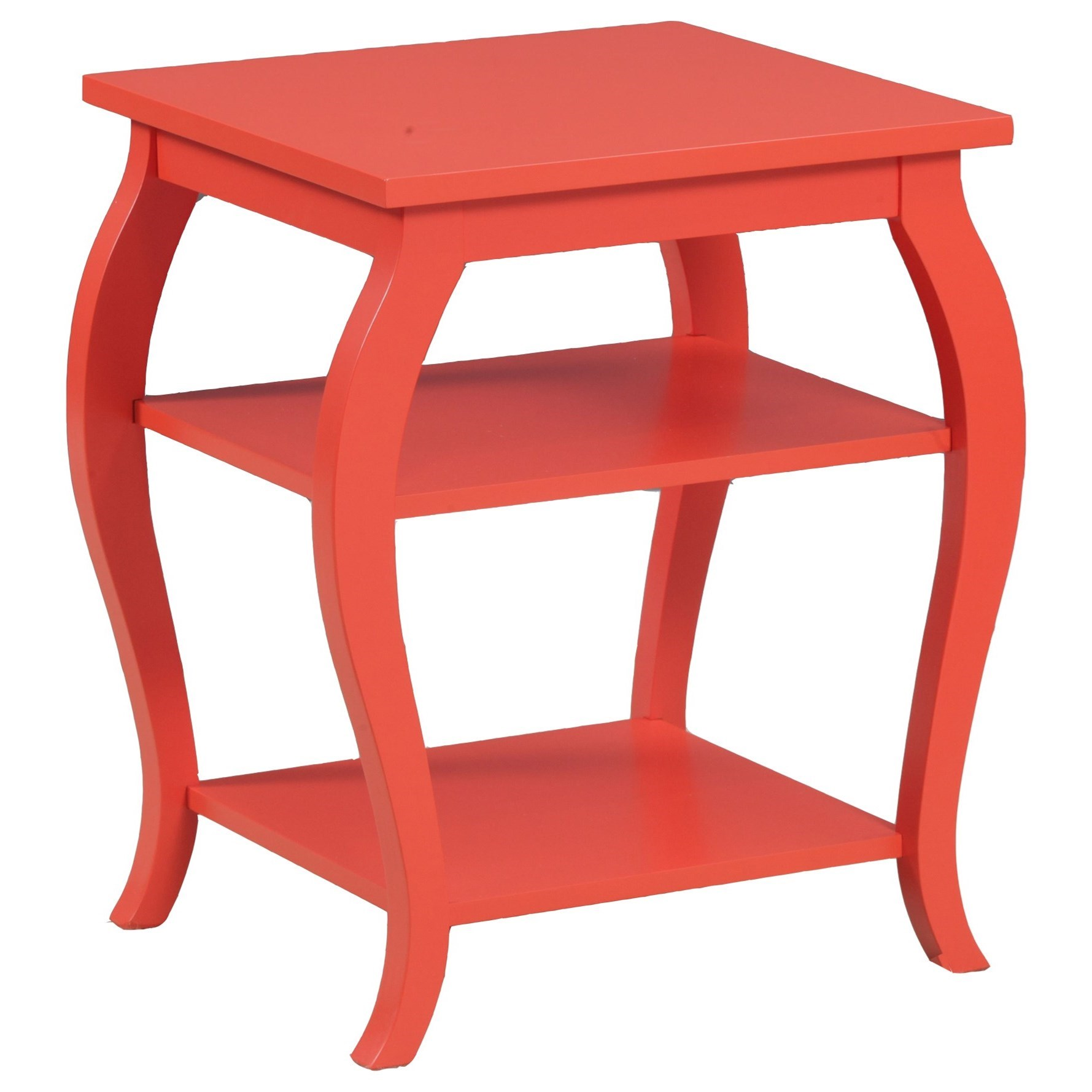 Accent Furniture Panorama Orange Table by Powell at Nassau Furniture and Mattress