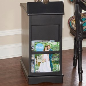 Butler Black Accent Table