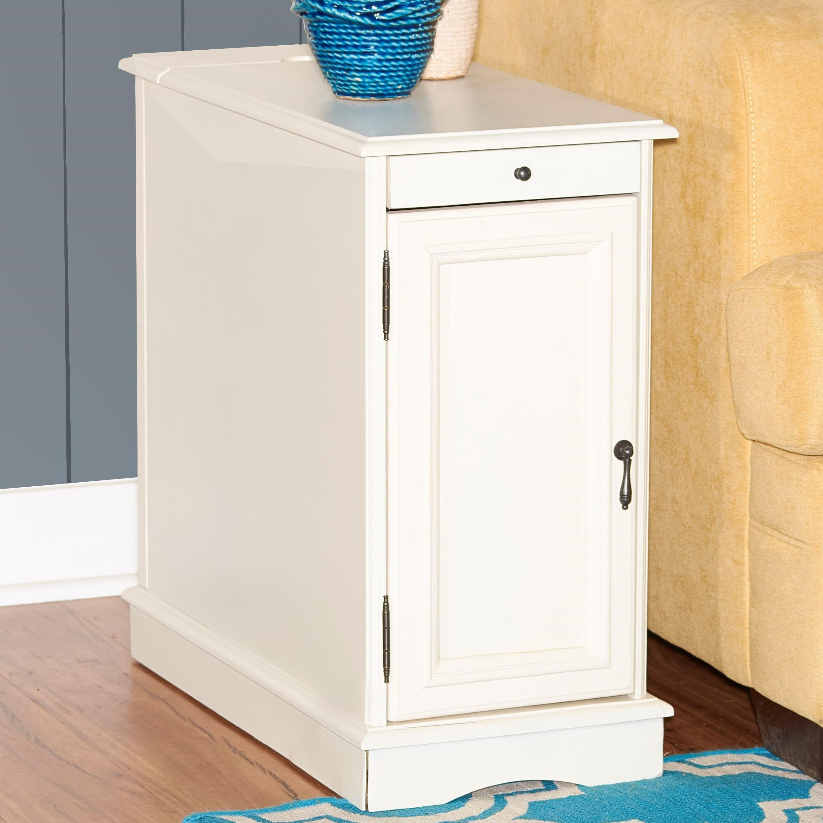 Accent Furniture  Butler White Accent Table  by Powell at Nassau Furniture and Mattress