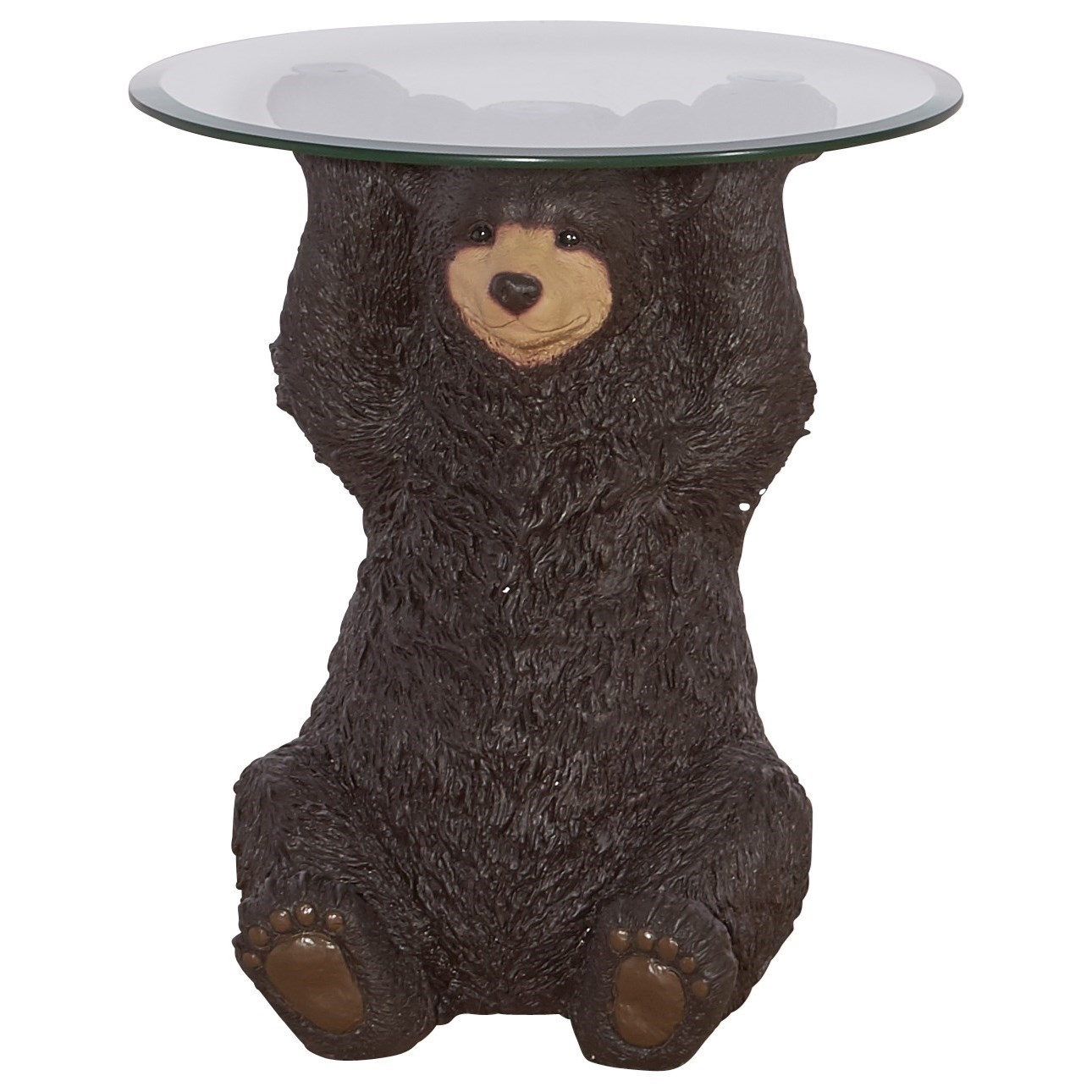 Accent Furniture Barney Bear Side Table by Powell at Lynn's Furniture & Mattress
