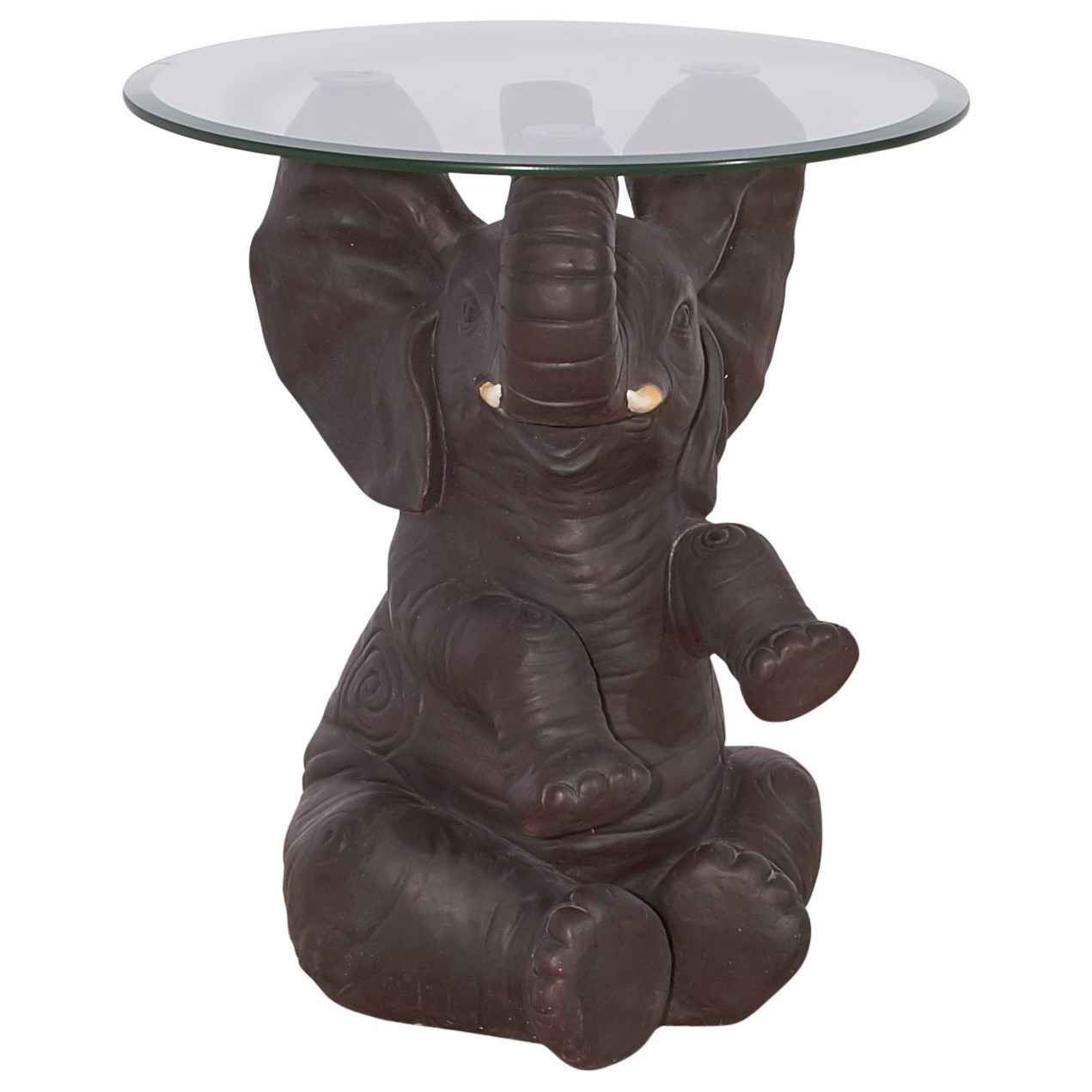 Accent Furniture Ernie Elephant Side Table by Powell at Lynn's Furniture & Mattress