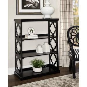 Conrad Medium Bookcase Black