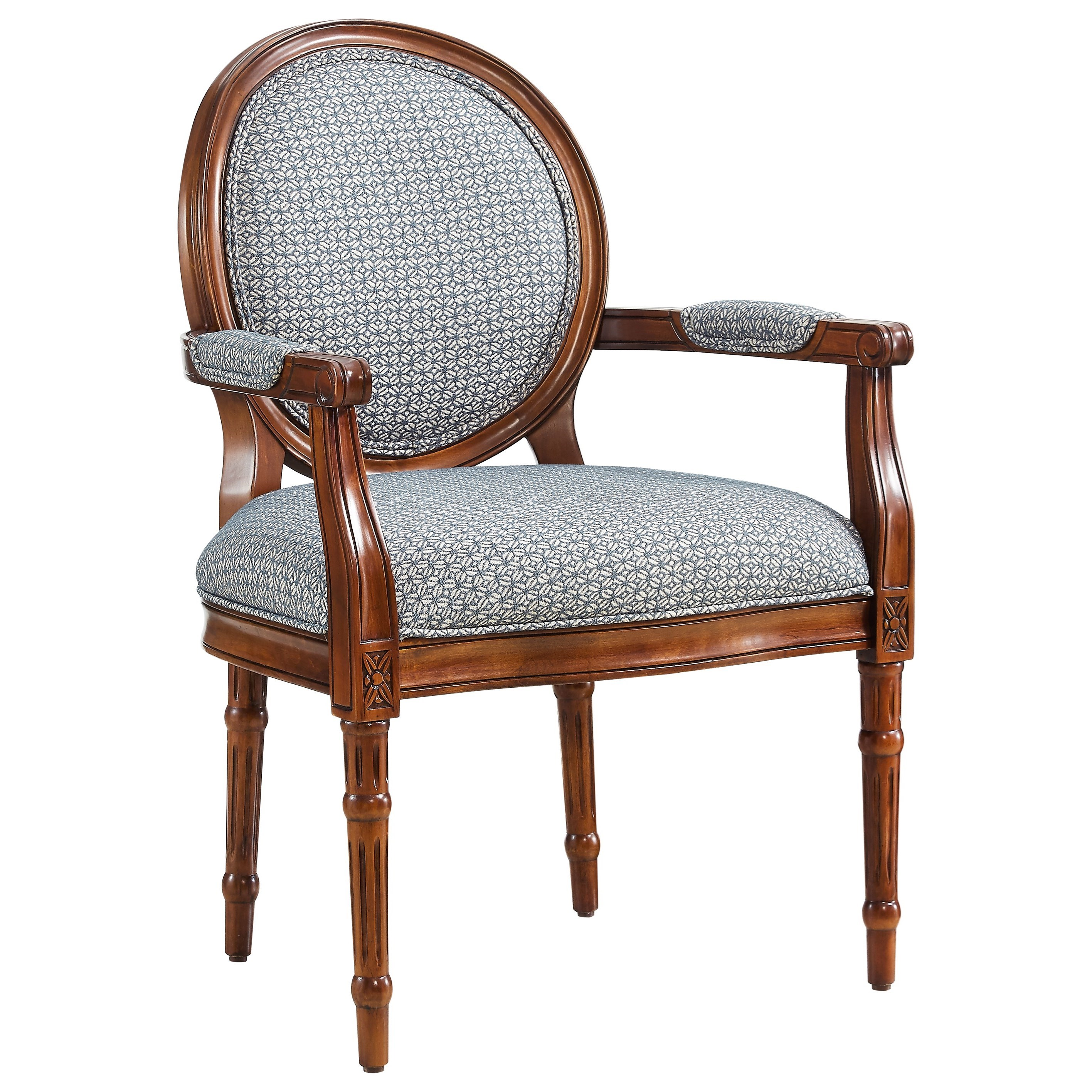 Accent Seating Belle Accent Chair by Powell at Nassau Furniture and Mattress