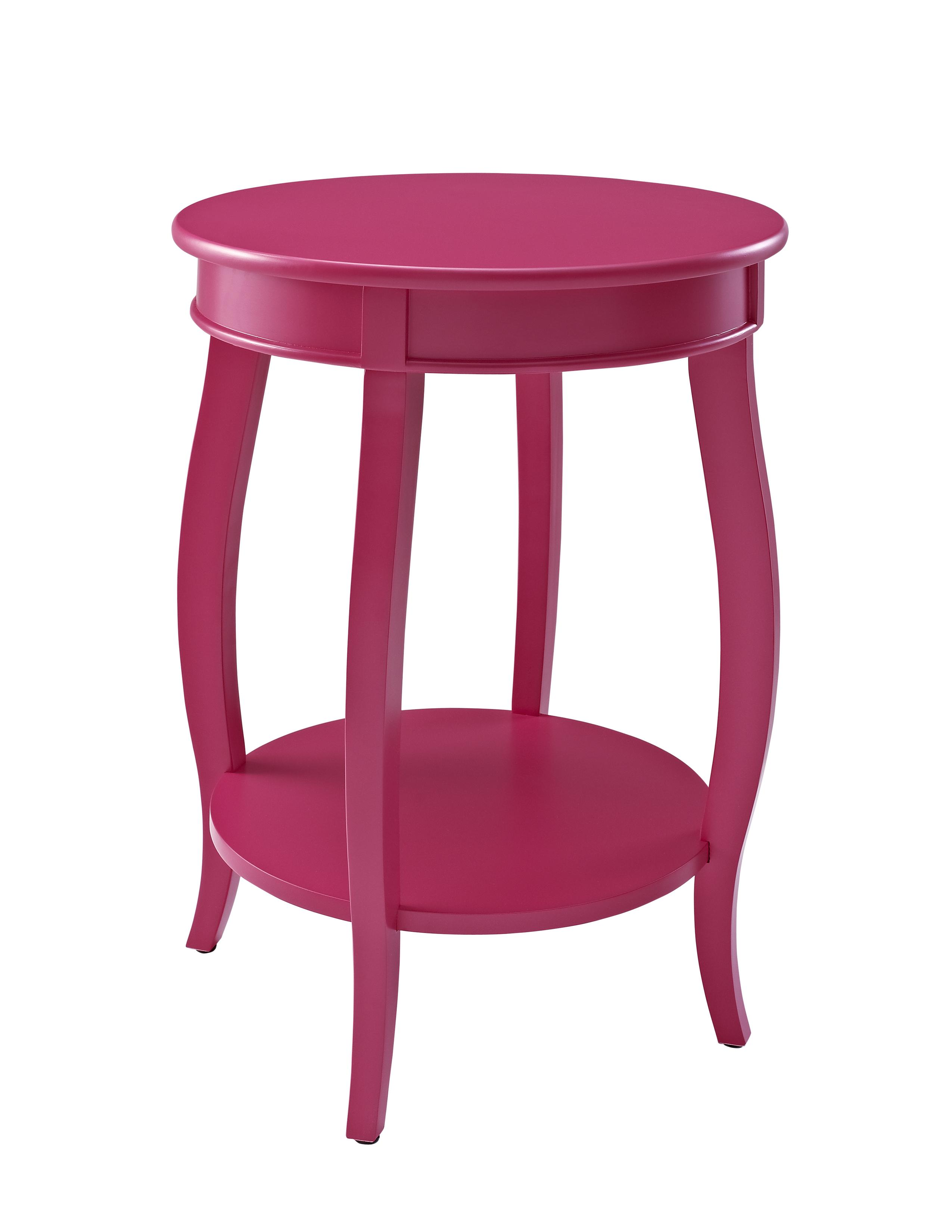 Accent Tables Round Table w/ Shelf by Powell at Nassau Furniture and Mattress