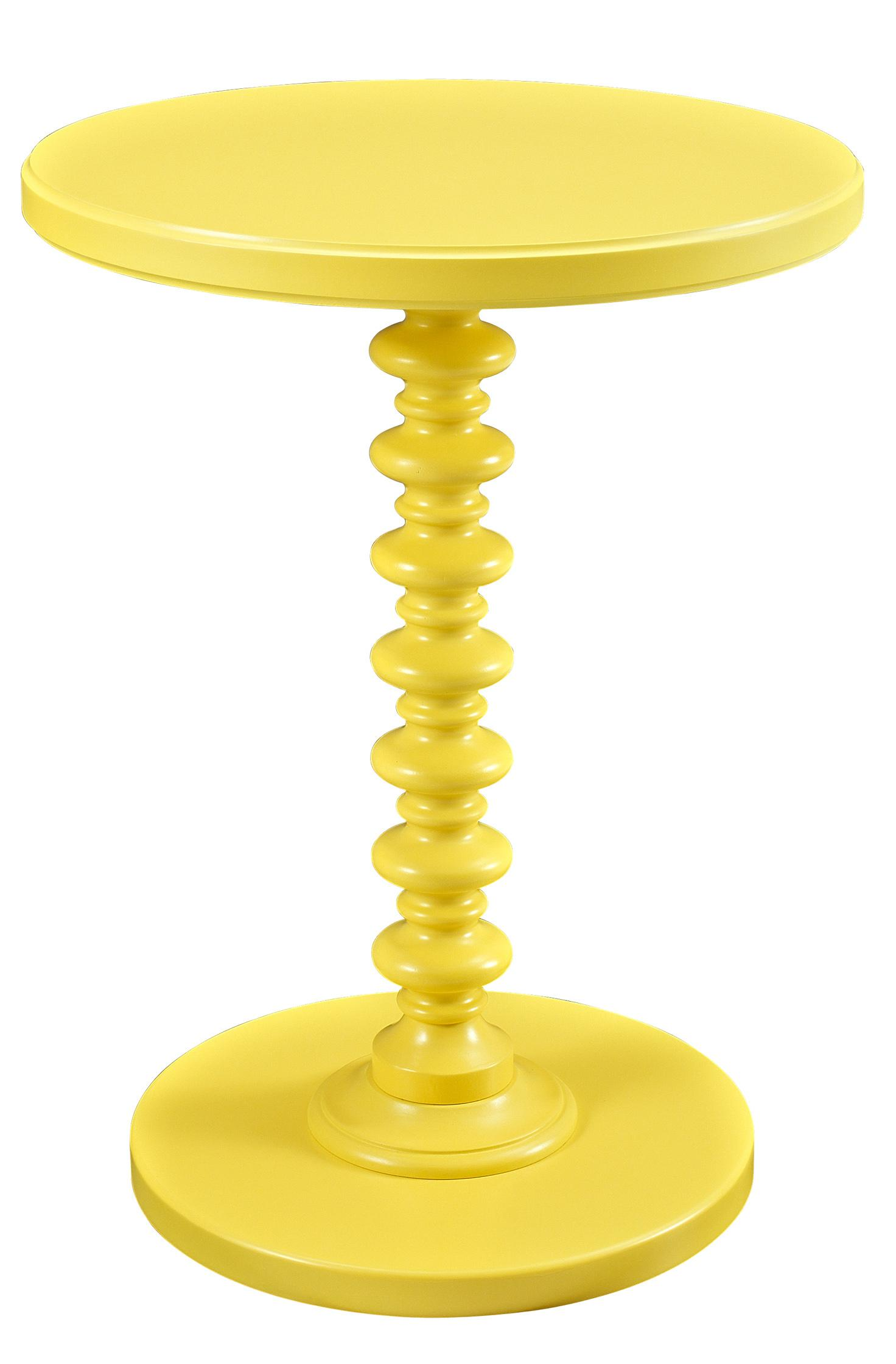 Accent Tables Round Spindle Table by Powell at Lynn's Furniture & Mattress