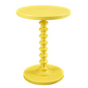 Powell Accent Tables Round Spindle Table