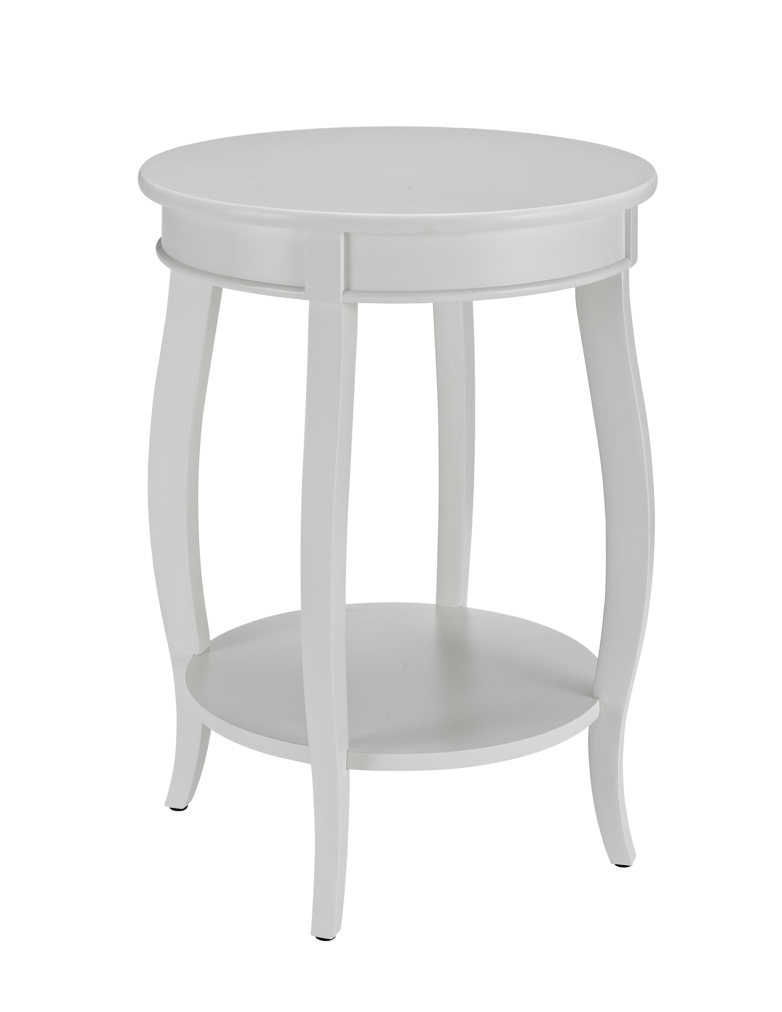 Accent Tables Round Table w/ Shelf by Powell at Lynn's Furniture & Mattress