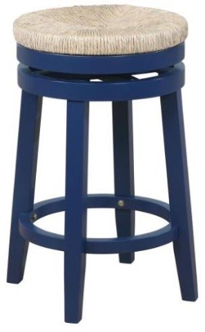 Bar Stools & Tables 25in Navy Counter Stool by Powell at Furniture Fair - North Carolina