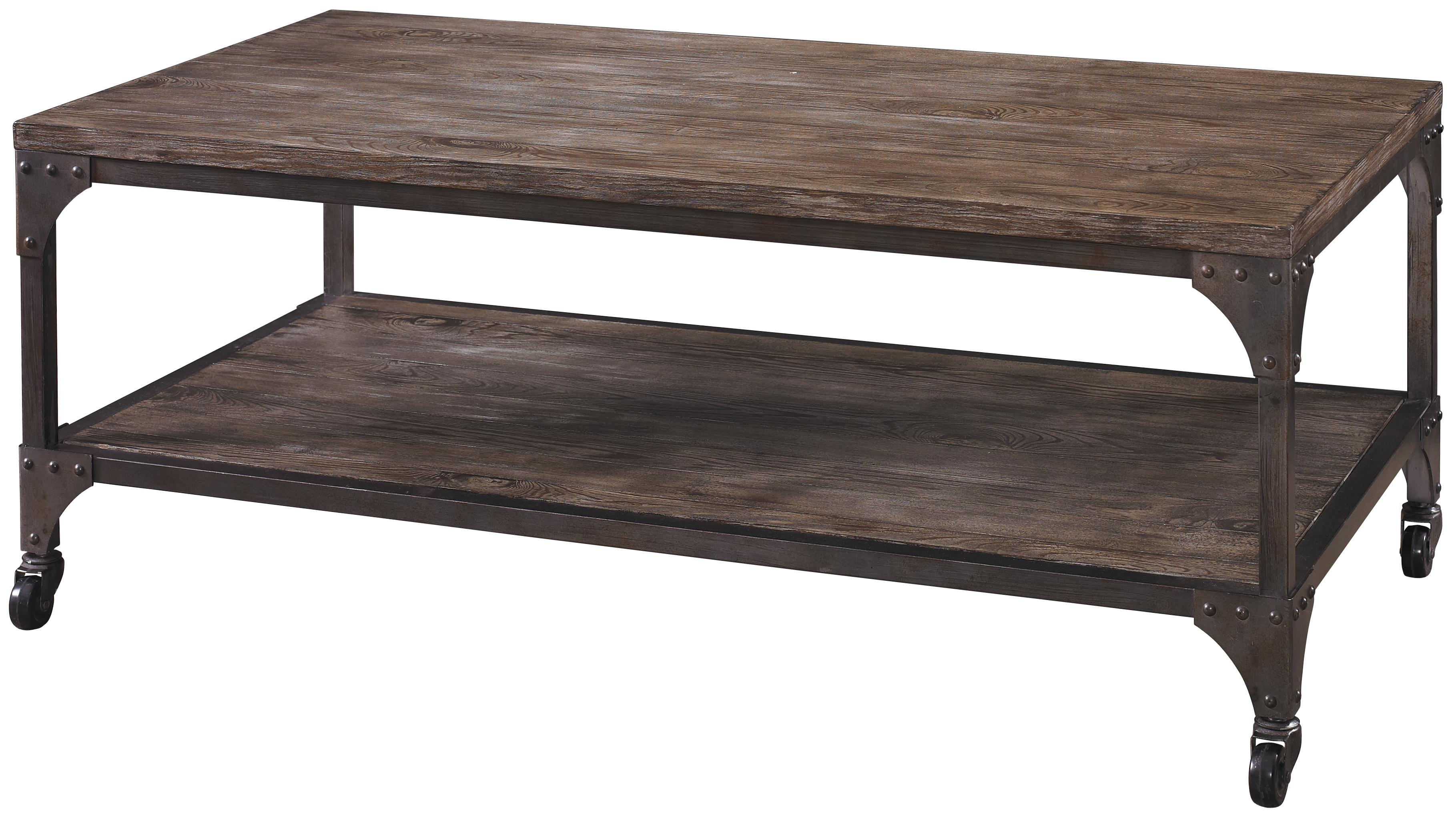 Benjamin Cocktail Table by Powell at A1 Furniture & Mattress