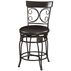Powell Big and Tall Back to Back Counter Stool