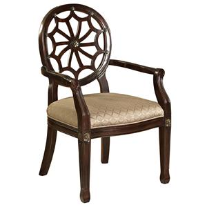 Powell Classic Seating Exposed Wood Chair