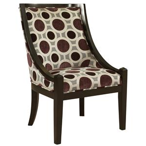 Powell Classic Seating High Back Accent Chair