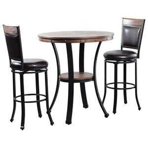 Franklin Pub Table 3 Piece