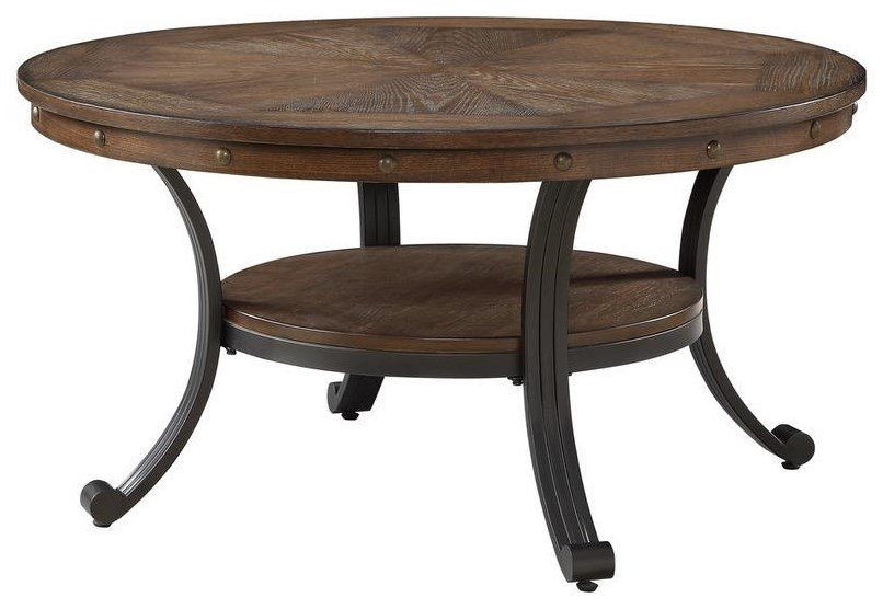 Franklin Cocktail Table by Powell at Furniture Fair - North Carolina