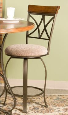 Hamilton Swivel Counter Stool by Powell at Bullard Furniture