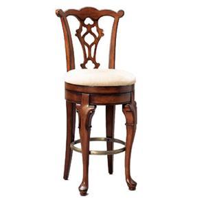 "Powell Jamestown Landing 30.75"" Swivel Armless Bar stool"