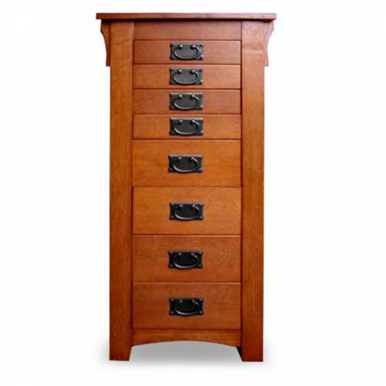 Jewelry Armoire Oak Jewelry Armoire by Powell at Westrich Furniture & Appliances