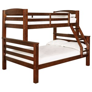Children's Twin Over Full Bunk Bed