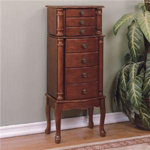 Powell Accents Jewelry Armoire