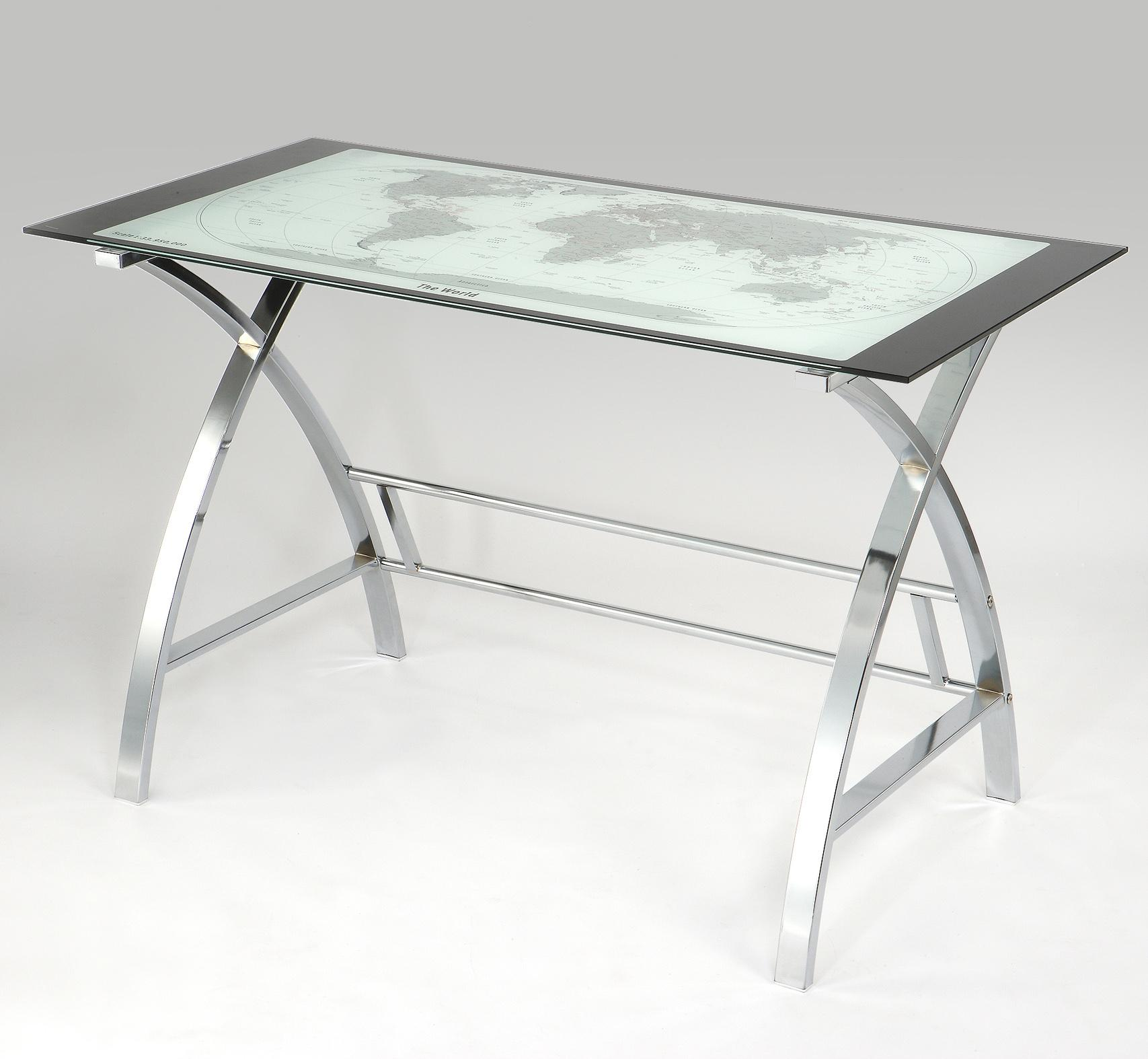 Accents World Map Desk by Powell at Bullard Furniture