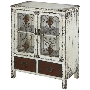 Powell Parcel 2 Door Console Cabinet with 2 Drawers