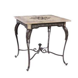 Antique Bronze Gathering Table